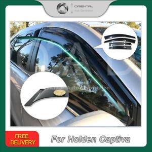 Premium Weather Shields Window Visor Weathershield for Holden Captiva 06-19