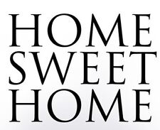 HOME SWEET HOME Simple Wall Art Decal Quote Words Lettering Decor DIY