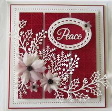 Flowers Leaves Metal Cutting Dies Stencil Scrapbook Embossing Card Craft Album
