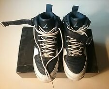 AJF12 size 10 white obsidian air jordan air force one
