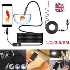USB IP67 Endoscopio Boroscopio Snake Inspección Cámara Android Teléfono Móvil Aplicación
