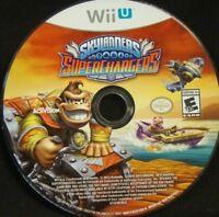 Skylanders Superchargers Nintendo Wii U Game  Disc ONLY!