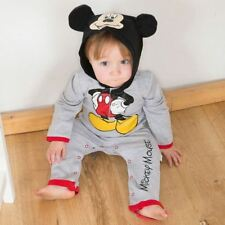 Disney Baby Mickey Mouse Romper Jersey 12-18mths - Toddler Babies Costume Outfit