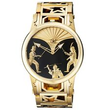 New Watchstar Swiss Made Automaton Samurai Fighter Patent Animated Dial Watch