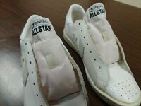 Converse All Star one star White leather 1970's Made In Korea 1G8610 Sz 7.5