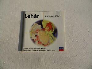 Franz Lehar - Die Lustige Witwe - Highlights - CD (3)