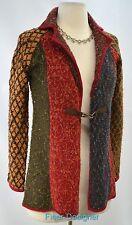 Anthropologie Curio shabby blazer light coat Jacket chic cardigan sweater SZ PP
