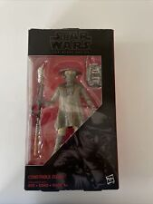 Hasbro The Black Series Constable Zuvio Action Figure