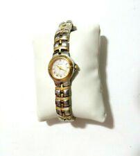 """Vintage Bulova Women's 98L56 Two Tone Watch 8.5"""""""