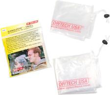 OP/TECH USA 9001022 Rainsleeve - Small, 2 Pack Clear