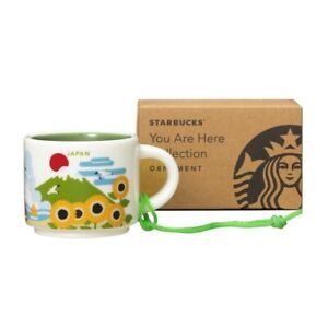 Starbucks You Are Here Collection Coffee Mug Limited JAPAN Summer Mt Fuji 59ml