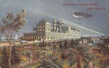 5297) VENEZIA LIDO EXCELSIOR PALACE HOTEL E DIRIGIBILE IN CIELO. VG IL 18/9/13.