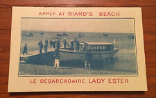 Souvenir Booklet From Baird's Beach Gaspe Quebec Canada