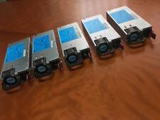 5 x LOT HP 460W Power Supply PSU DL180 ML350 ML370 DL380 DL360 G6 G7 499250-201