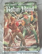 The Merry Adventures of Robin Hood by Howard Pyle Thrushwood Gossett & Dunlap
