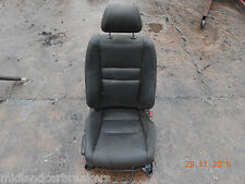 HONDA CIVIC 2008 MK8 5 DOOR OSF DRIVER SIDE FRONT BLACK LEATHER SEAT