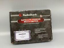 RadioShack Satellite Passive Multi-Switch 3-In/4-Out Dual-LNB #16-2571 (R9)