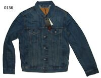 Levi's Denim Trucker Jacket Shelf Blue New With Tags #0136 FAST SHIPPING !!!
