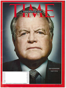 TIME Magazine September 7, 2009 Ted Kennedy Dies,Taliban, Google, Andy Roddick !