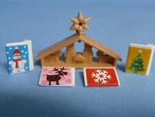 PLAYMOBIL de Noël de l'avent berceau desoration & cartes-Moderne Maison Nouveau