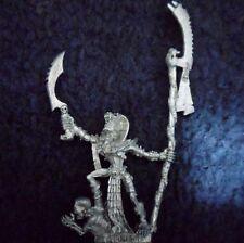 2002 MORTI VIVENTI SACERDOTE LICHE A PIEDI Games Workshop WARHAMMER Tomb Kings Esercito Lich