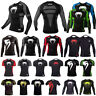 Men's Fitness T Shirt Short Long Sleeve Jersey Base Layer Cycling Compression