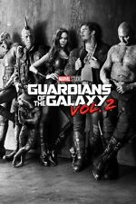 (031) NEW MAXI POSTER GUARDIANS OF THE GALAXY VOL.2 CHARACTERS MARVEL HEROS