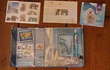 boite jeu mc donald's fragile planette 2008  L'OURS POLAIRE avec stickers crayon