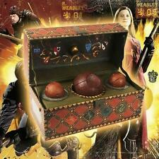 HARRY POTTER ~ COLLECTIBLE QUIDDITCH SET WITH POSTER ~ QUAFFLE BLUDGERS SNITCH