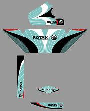 Formula K stile europeo ROTAX RADIATORE ADESIVO KIT-PER KARTING