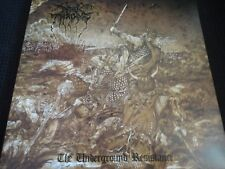 "Darkthrone ""The Underground Resistance"" Original LP. 1st pressing w/poster."
