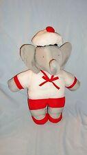 Doudou Tissu Babar l'Eléphant (35cm)