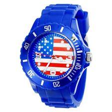 Reloj de silicona Bandera Estados Unidos USA Flag  silicone watch  B740