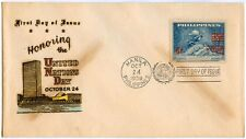 Philippine 1959 Honoring the United Nation Day FDC
