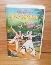 Mary Poppins (Disney VHS) Enjoy an Old Musical Classic! Dick Van Dyke *Rated-G*