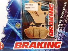 FOR HARLEY DAVIDSON FLTR/I ROAD GLIDE 1450 2002 02 REAR SINTERED BRAKE PADS BRAK