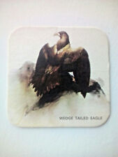 Vintage CHARLES WELLS / EAGLE BITTER - Cat No'98 - Beermat / Coaster
