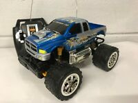 Monster Truck Radio Remote Control Car Fast Speed Blue Red Green Boxed Uk Stock