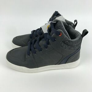 ART CLASS BOYS HIGH TOP SNEAKERS GREY LACE UP KELLEN, US SIZE 5 NEW IN BOX