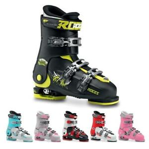 Roces IDEA Free - Size 22.5 - 25.5 MP - Size Adjustable Youth Ski Boots