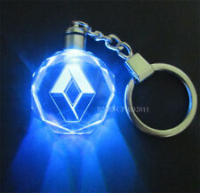 RENAULT Car Logo Crystal LED Light Keyring Gift box XMAS MULTICOLOUR CLIO 2018