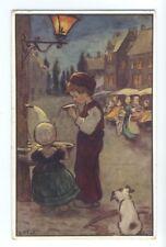 ch0097 - Dutch Children - artist IMJ - postcard
