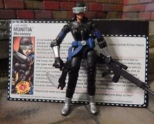 GI JOE ~ MUNITIA ~ FEMALE MERCENARY ~ DTC  ~ COLLECTORS EXCLUSIVE