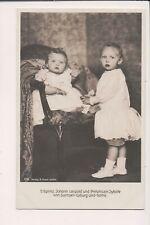 Vintage Postcard Prince Johann Leopold, Princess Sybilla of Saxe-Coburg &Gotha