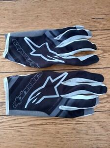 alpinestars gloves, motocross radar gloves, size XXL, worn once