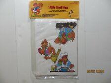 Little Red Hen Flannelboard Set Judy/Instructo 1997 Sealed