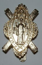 GLASGOW AND STRATHCLYDE UOTC ANODISED CAP BADGE