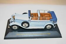 1/43 MERCEDES BENZ 770 GROSSER CABRIOLET F OPEN GRAY 1930 IXO MUSEUM NO BOX