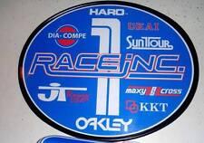 Old School OVAL BMX Number plate by OGK JAPAN -RACE INC. BMX