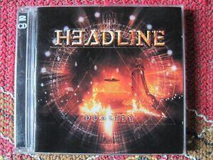 headline duality 2cd bonus track ,video clip & photo gallery 2012 metal